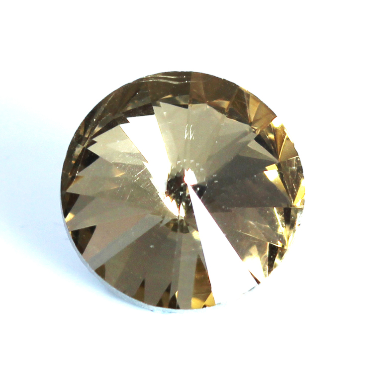 Light Topaz Kinesisk Rivoli 16mm 2st