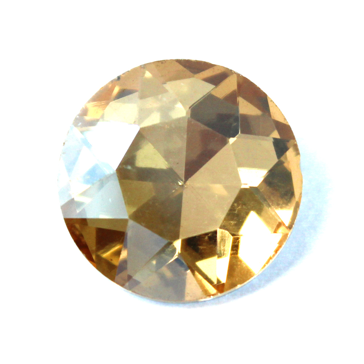 Gold Shade Kinesisk  Round Stone 27mm 1st