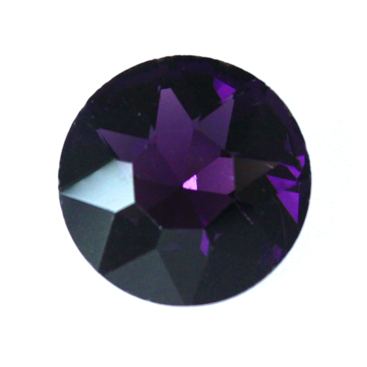 Purple Kinesisk Round Stone 27mm 1st
