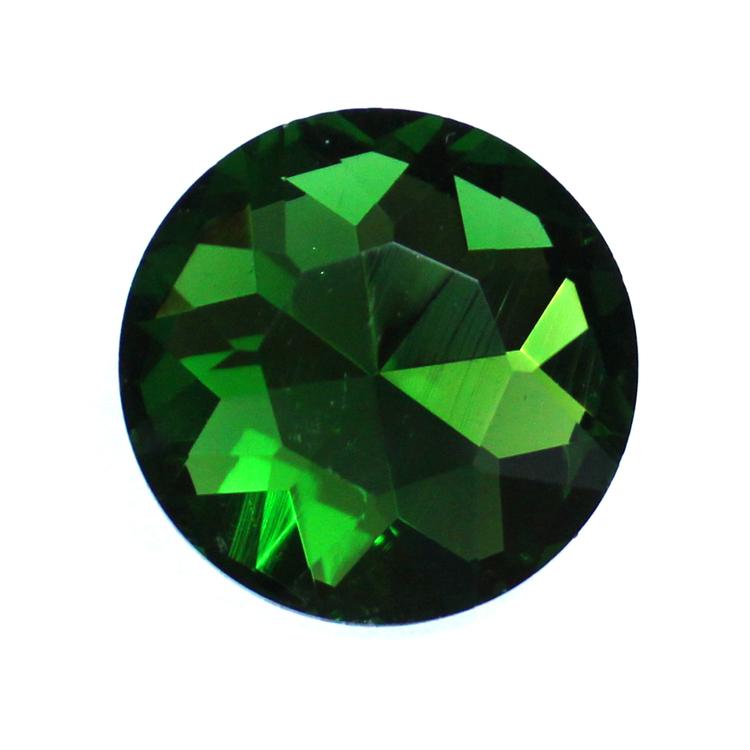 Dark Green Kinesisk Round Stone 27mm 1st