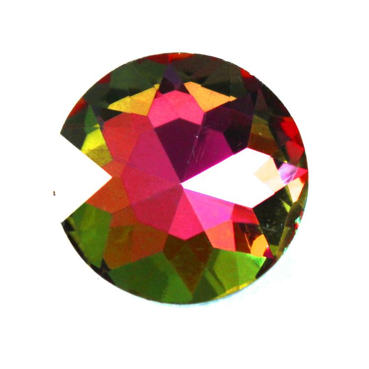 Rainbow Kinesisk Round Stone 27mm 1st