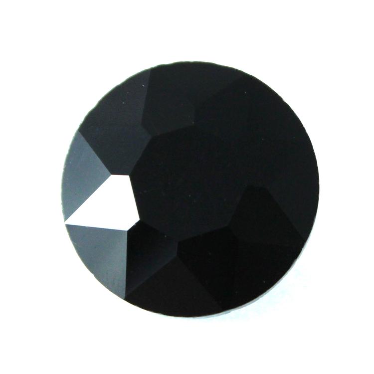 Jet Kinesisk Round Stone 27mm 1st