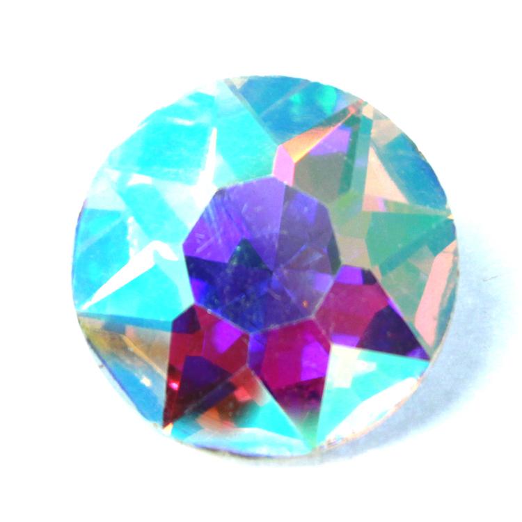 Crystal AB Kinesisk Round Stone 27mm 1st