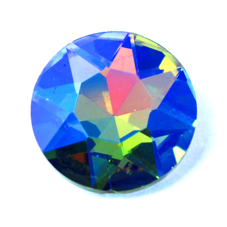 Rainbow AB Kinesisk Round Stone 27mm 1st