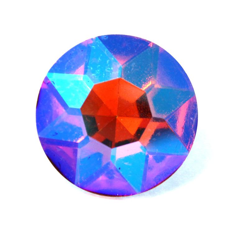 Orange AB Kinesisk Round Stone 27mm 1st