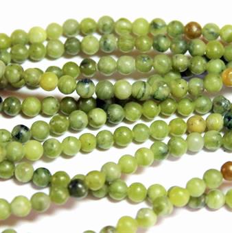 Grön Taiwan Jade 4mm 1sträng