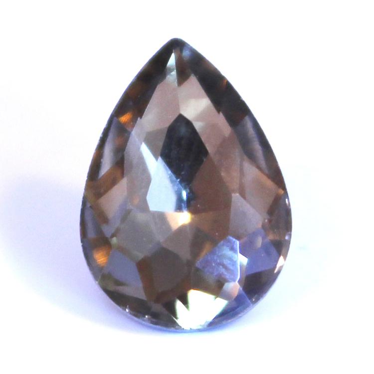 Black Diamond Kinesisk Strass Droppe 14x10mm 3st