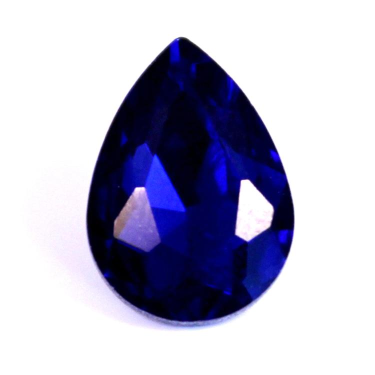 Cobalt Kinesisk Strass Droppe 18x13mm 2st
