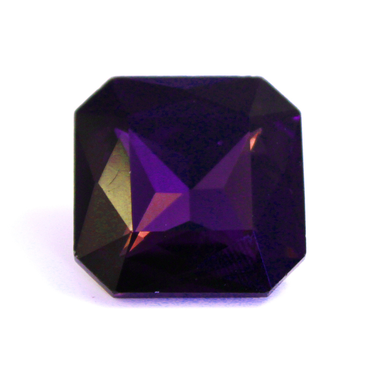 Purple Kinesisk Strass Kvadrat 13x13mm 2st
