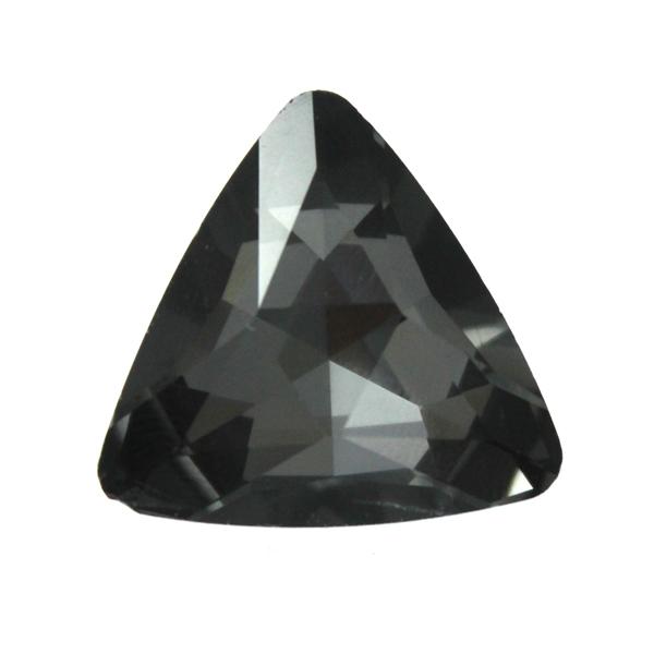 Black Diamond Kinesisk Strass Triangel 14mm 2st