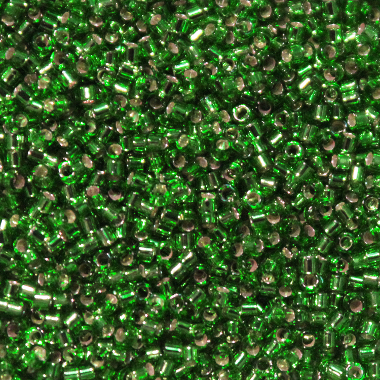 Silverlined Green DB-0046 Delicas 11/0 5g