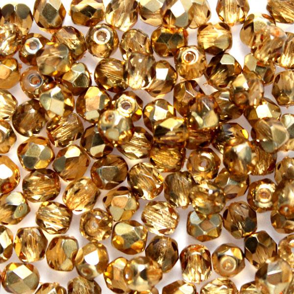 Apricot Metallic Ice Fire Polish 3mm 100st