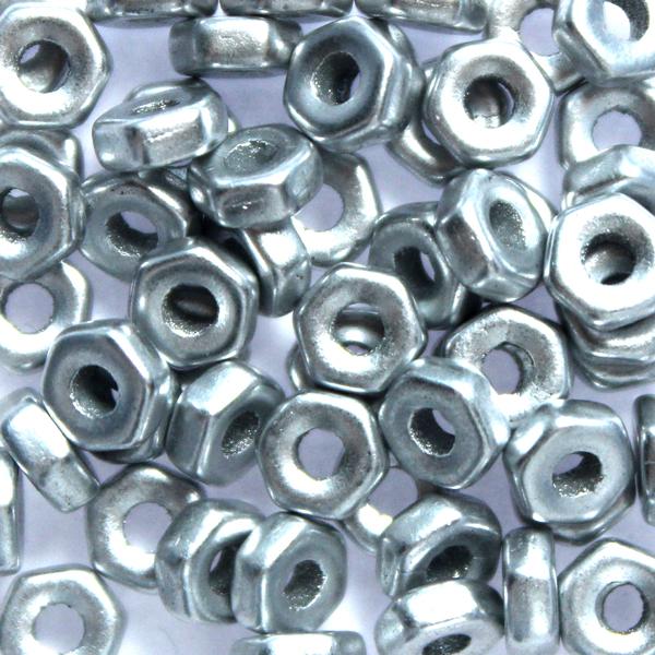 Aluminium Silver Muttrar 5g