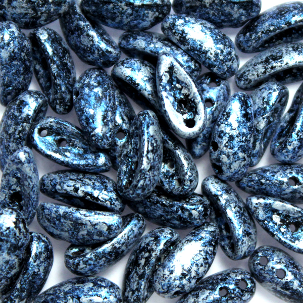 Tweedy Blue Chilli Beads 10g