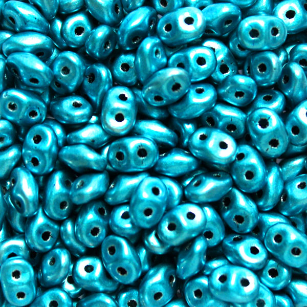 Metalust Turquoise Superduo 20g