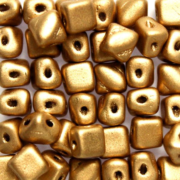 Aztec Gold Silky Beads Mini 40st