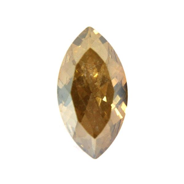 Gold Shade Kinesisk Strass Navette 32x17mm 1st