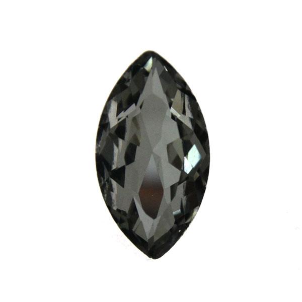 Black Diamond Kinesisk Strass Navette 32x17mm 1st