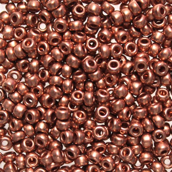 Copper Plated 8-0187 Miyuki 8/0 10g