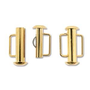 Tublås Bygel Guldfärgad 16,5mm 1st