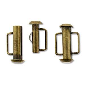 Tublås Bygel Bronsfärgad 16,5mm 1st