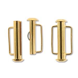 Tublås Bygel Guldfärgad 21,5mm 1st