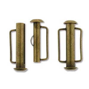 Tublås Bygel Bronsfärgad 21,5mm 1st
