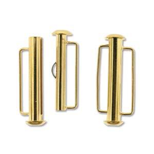 Tublås Bygel Guldfärgad 26,5mm 1st
