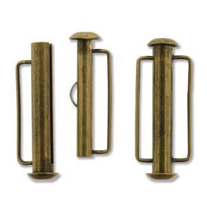 Tublås Bygel Bronsfärgad 26,5mm 1st
