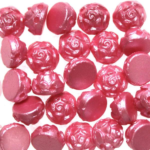 Alabaster Pastel Pink Rosetta 2-Hole 5g