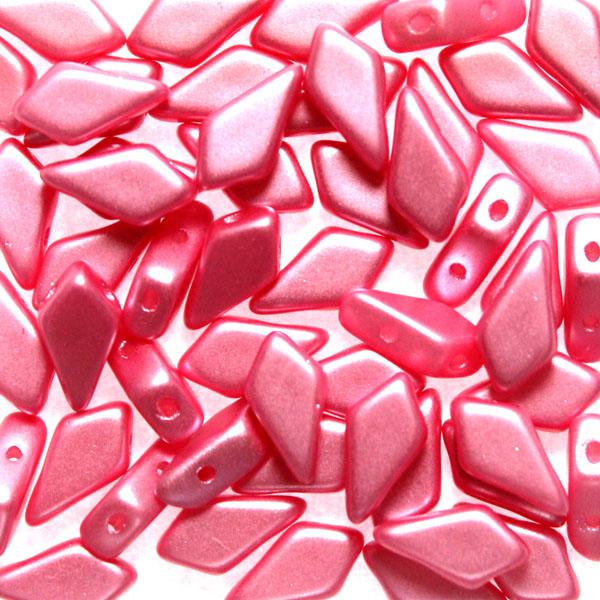 Alabaster Pastel Pink Kite Bead 10g