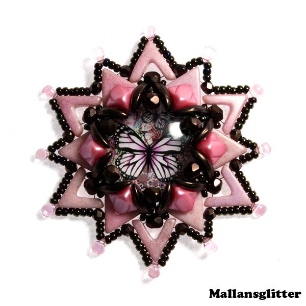 Dropava Kit Pink and Bronze (EJ MÖNSTER ENDAST PÄRLOR)