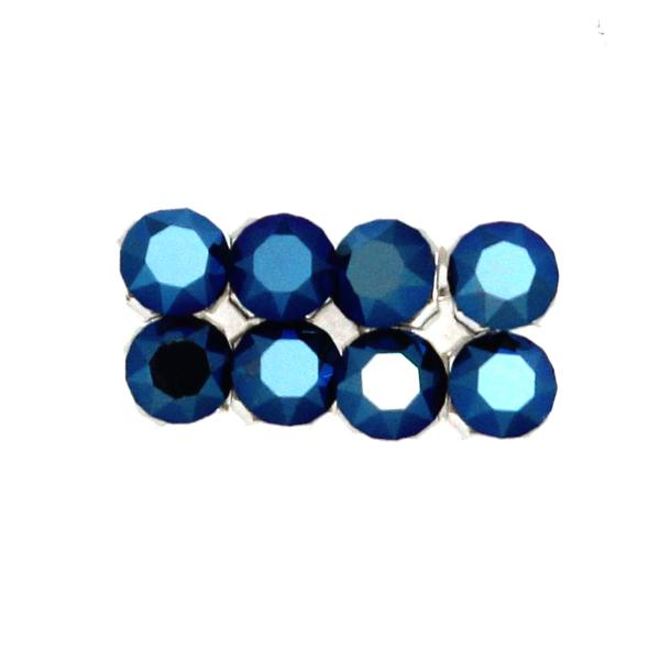 Crystal Metallic Blue Swarovski Crystal Mesh 3mm 8st