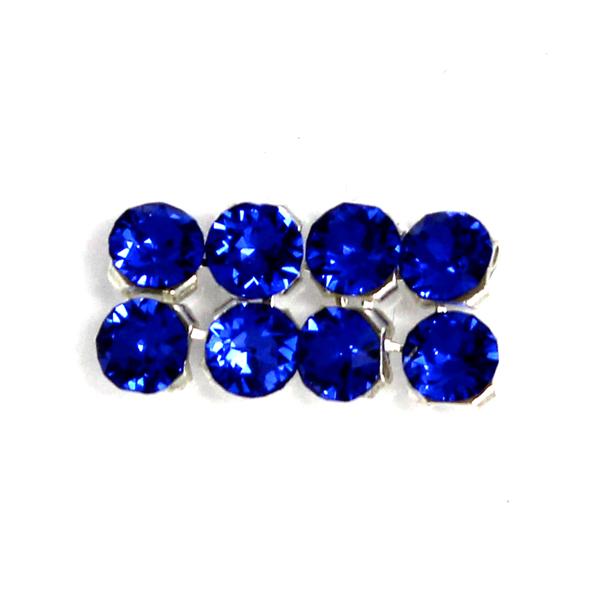 Majestic Blue Swarovski Crystal Mesh 3mm 8st
