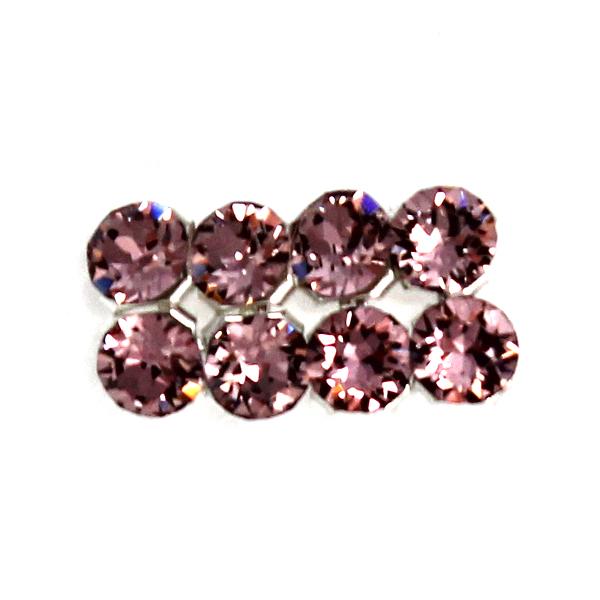 Crystal Antique Pink Swarovski Crystal Mesh 3mm 8st