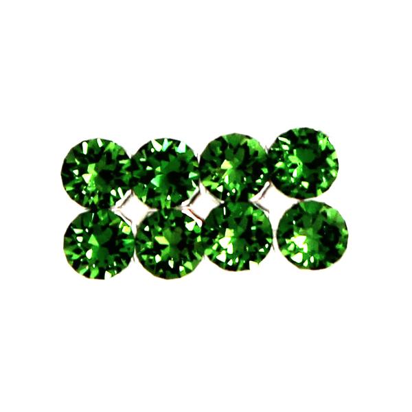 Fern Green Swarovski Crystal Mesh 3mm 8st