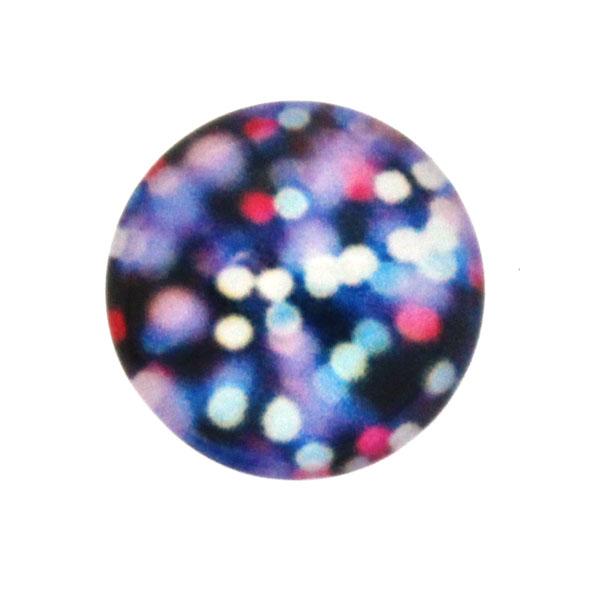 Glitter 17 Cabochon 12mm 1st