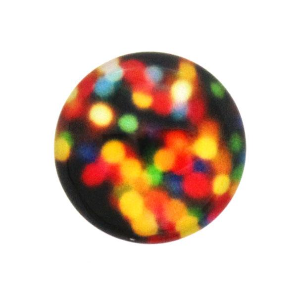 Glitter 21 Cabochon 12mm 1st