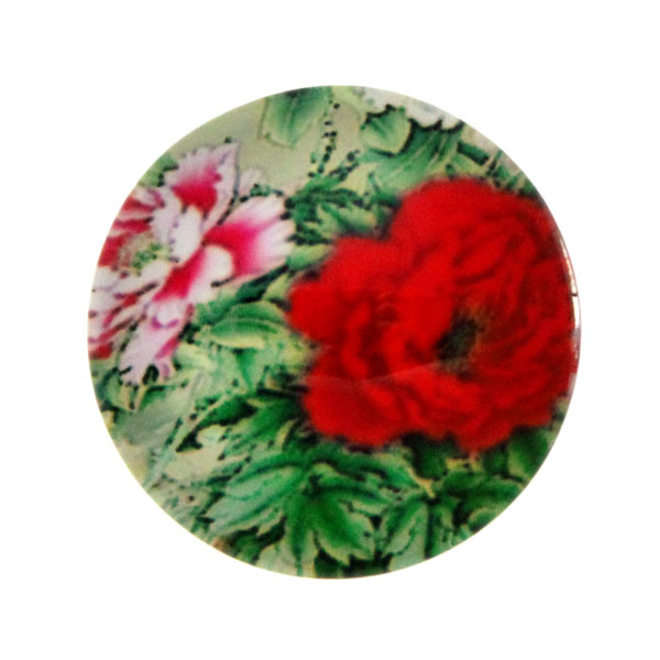 Blommor 1 Cabochon 12mm 1st