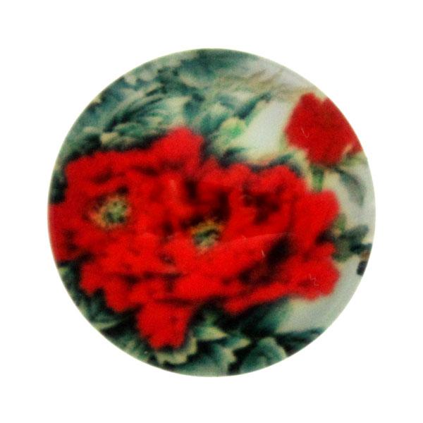Blommor 4 Cabochon 12mm 1st