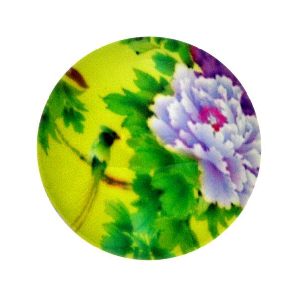 Blommor 10 Cabochon 12mm 1st