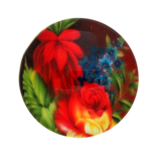 Blommor 22 Cabochon 12mm 1st