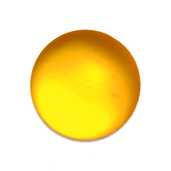 Yellow Lunasoft Cabochon 24mm 1st