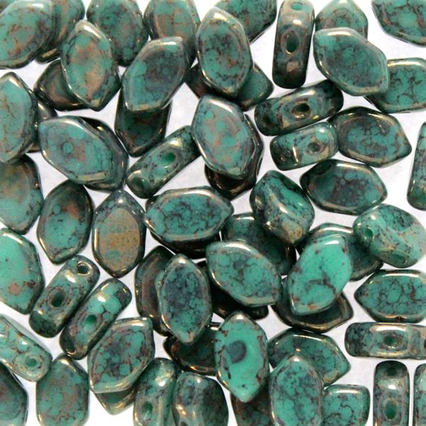Green Turqoise Teracota Bronze Paros 10g