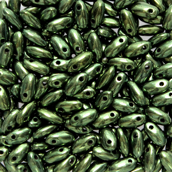Jet Green Luster Rizo 10g