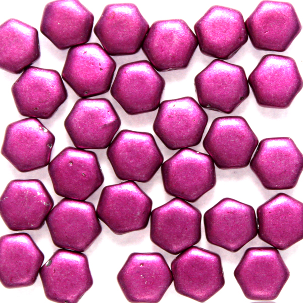 Metallic Pink Honeycomb 30st