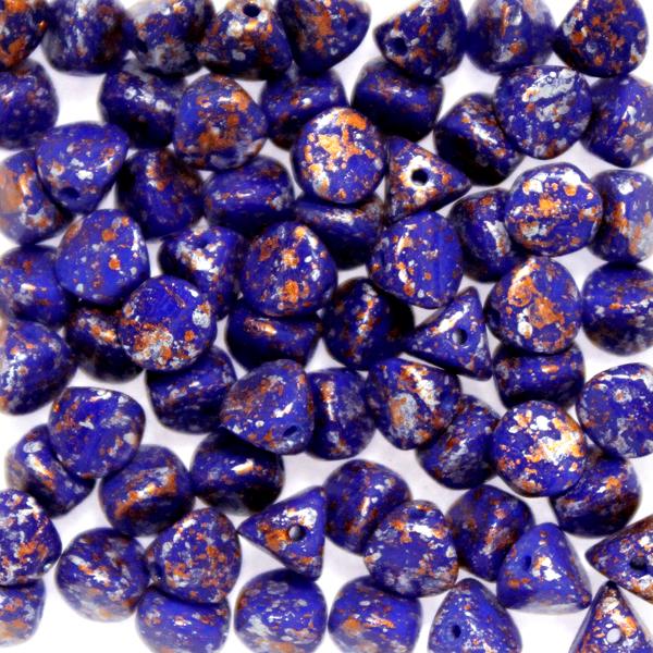 Opaque Blue Tweedy Copper Ilos 10g
