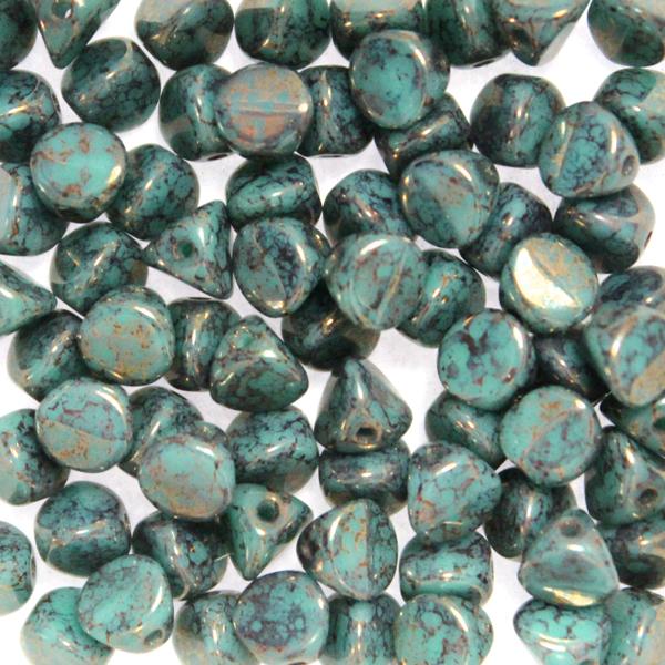 Green Turquoise Teracota Bronze Ilos 10g
