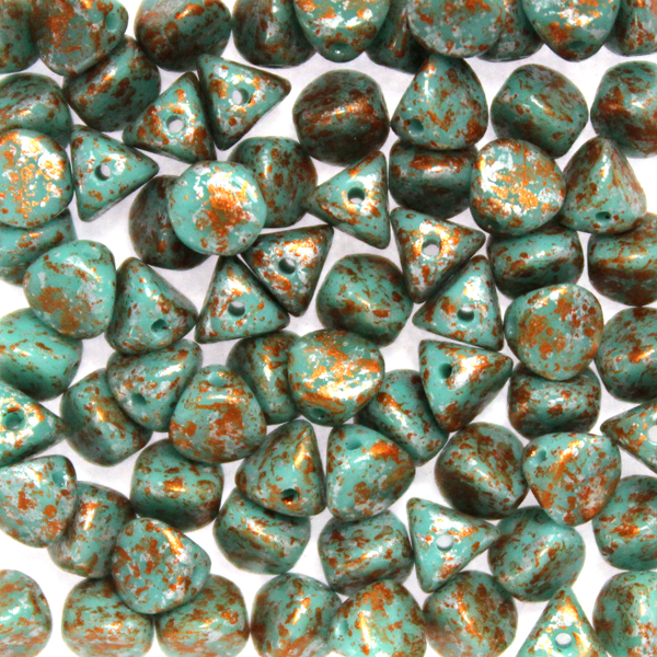 Green Turquoise Tweedy Copper Ilos 10g