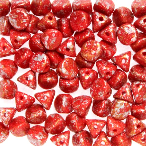 Opaque Red Tweedy Copper Ilos 10g